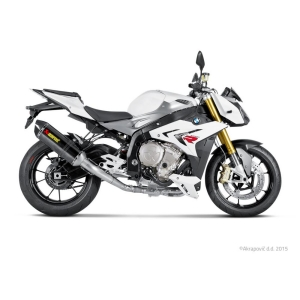 AKRAPOVIC RACING LINE COMPLETE SYSTEM STAINLESS STEEL & CARBON BMW S 1000 R ABS 14/16