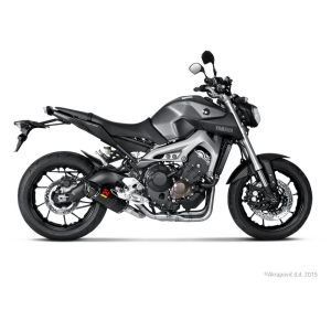 AKRAPOVIC RACING LINE COMPLETE SYSTEM STAINLESS STEEL & CARBON YAMAHA MT09 14/16