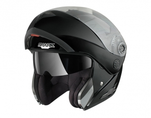 CASQUE MODULABLE SHARK OPENLINE PRIME NOIR BRILLANT