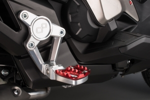 Commandes reculées LIGHTECH rouge Honda X-ADV