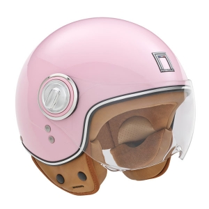 CASQUE JET NOX IDOL ROSE BRILLANT