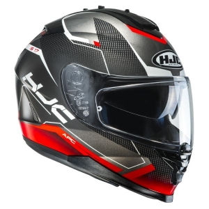 Casque HJC IS17 Loktar rouge