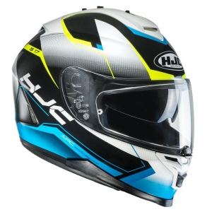 Casque HJC IS17 Loktar bleu