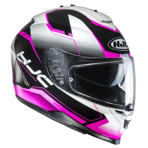 Casque HJC IS17 Loktar rose