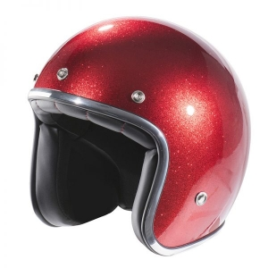 CASQUE JET NOX N242 ROUGE PAILLETTE RED