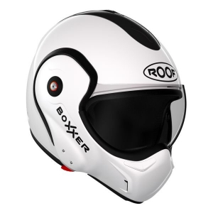 CASQUE MODULABLE ROOF V8 BOXXER BLANC UNI