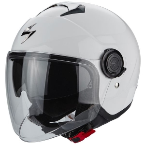CASQUE JET SCORPION EXO CITY BLANC BRILLANT