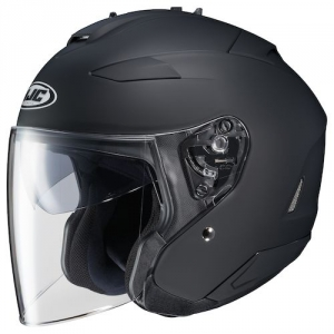 CASQUE JET HJC IS 33 II NOIR SEMI MAT