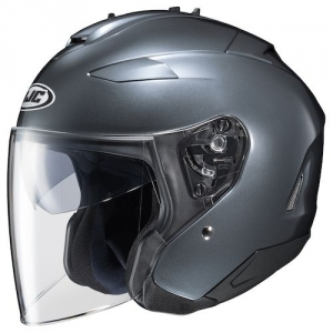 CASQUE JET HJC IS 33 II TITANE SEMI MAT