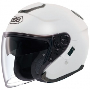 CASQUE JET SHOEI J CRUISE BLANC BRILLANT