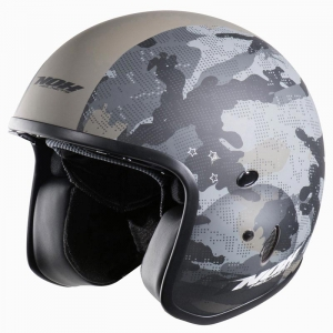 CASQUE JET NOX N237 RIOT CAMOUFLAGE ARMY