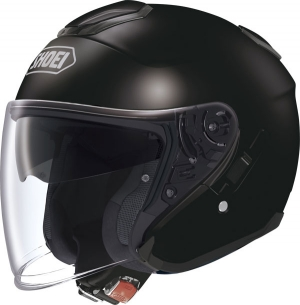 CASQUE JET SHOEI J CRUISE NOIR BRILLANT