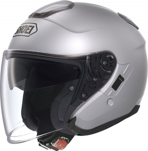 CASQUE JET SHOEI J CRUISE SILVER