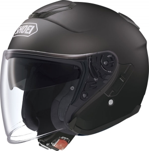 CASQUE JET SHOEI J CRUISE NOIR MAT MATTE BLACK