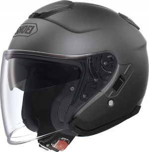 CASQUE JET SHOEI J CRUISE TITANE MAT GRIS ANTHRACITE