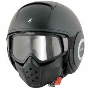 CASQUE SHARK RAW NOIR MAT